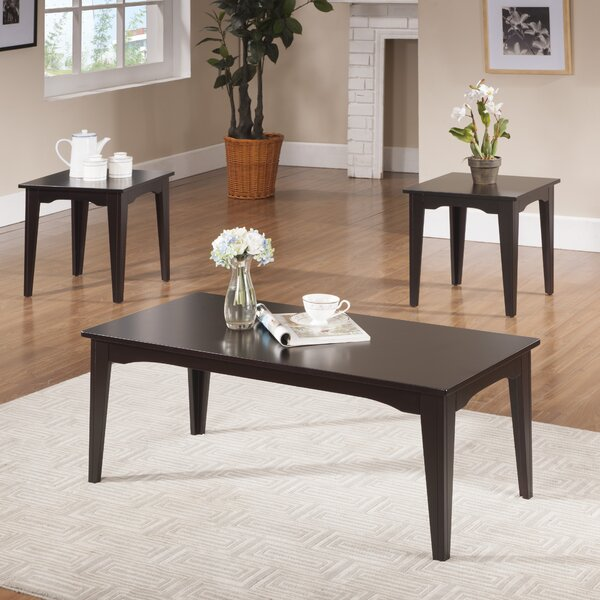3 Piece Coffee Table Set by InRoom Designs