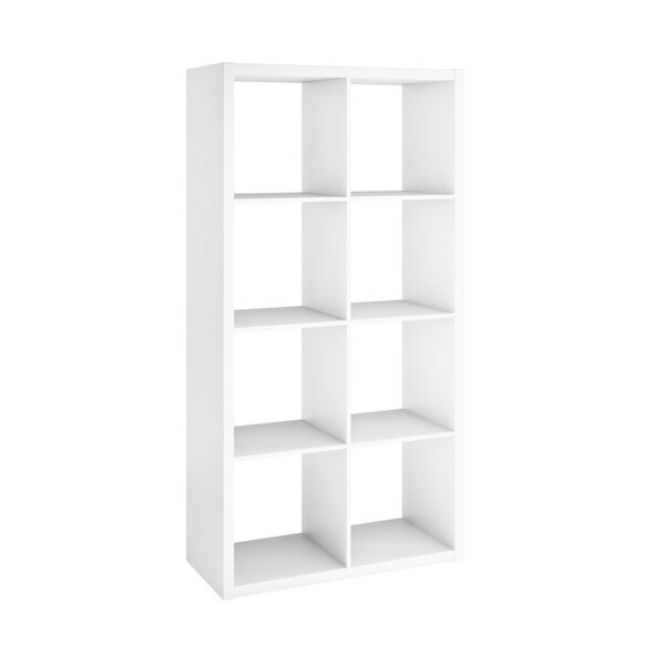 Americo 58'' H X 29.4'' W Solid Wood Etagere Bookcase By Latitude Run