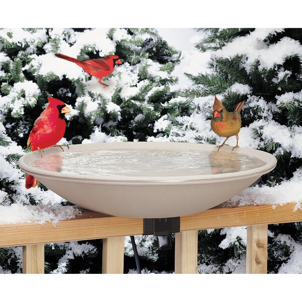 Deck Rail Birdbath by Allied Precision Industries