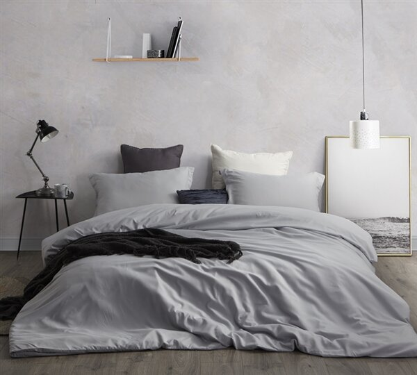 Pearisburg Supersoft 3 Piece Reversible Duvet Cover Set by Greyleigh
