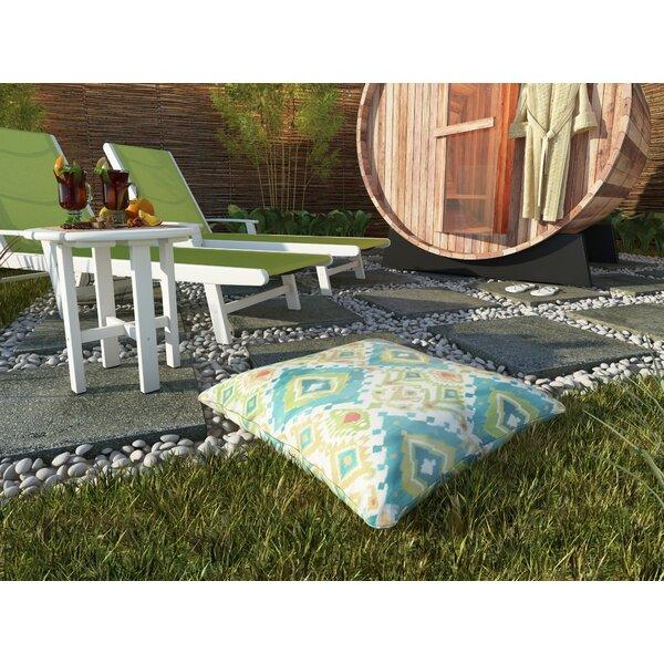 Briget Corded Indoor/Outdoor Floor Pillow by Bungalow Rose