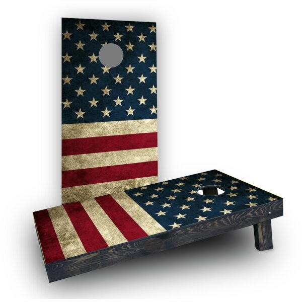 American Flag Cornhole (Set of 2) by Custom Cornhole Boards