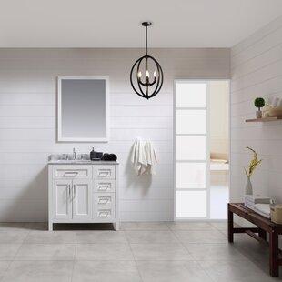 Buy luxury Tahoe 36 Single Bathroom Vanity Set with Mirror ByOve Decors