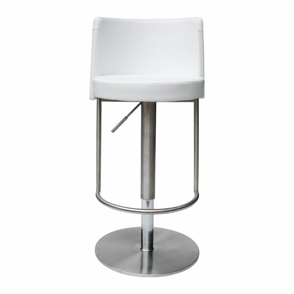 Bowery Adjustable Height Swivel Bar Stool by Bromi Design