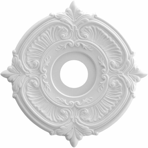 Attica 1H x 16W x 16D Ceiling Medallion by Ekena Millwork