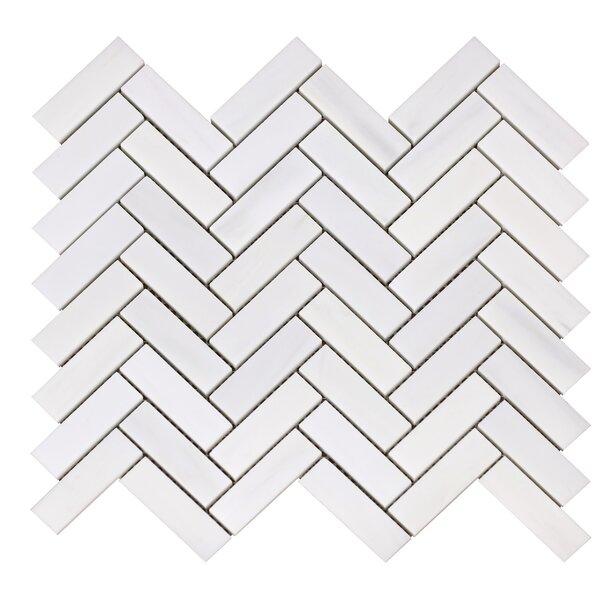 Bianco Dolomite 1 x 3 Marble Mosaic Tile