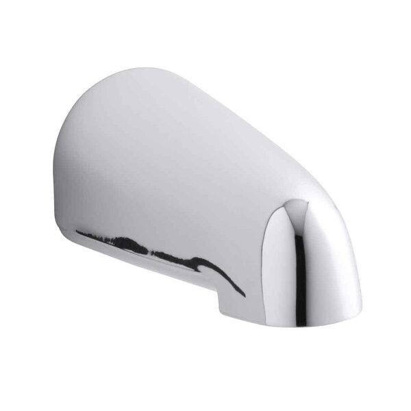 Devonshire 4-7/16 Non-Diverter Bath Spout with Npt Connection by Kohler