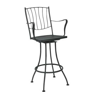 Aurora 29 Patio Bar Stool by Woodard
