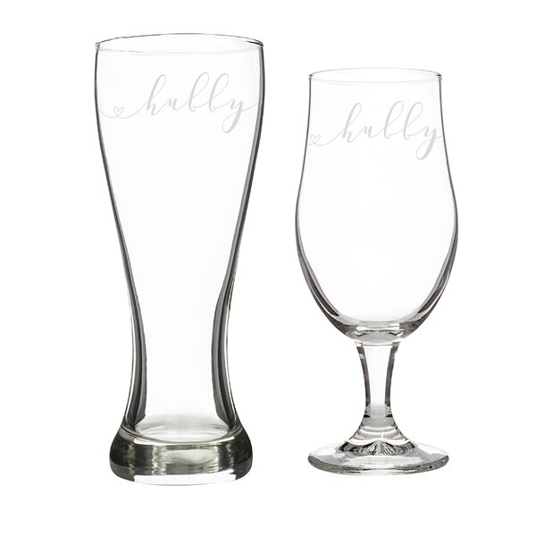 Hubby and Hubby Drinkware Set by Cathys Concepts
