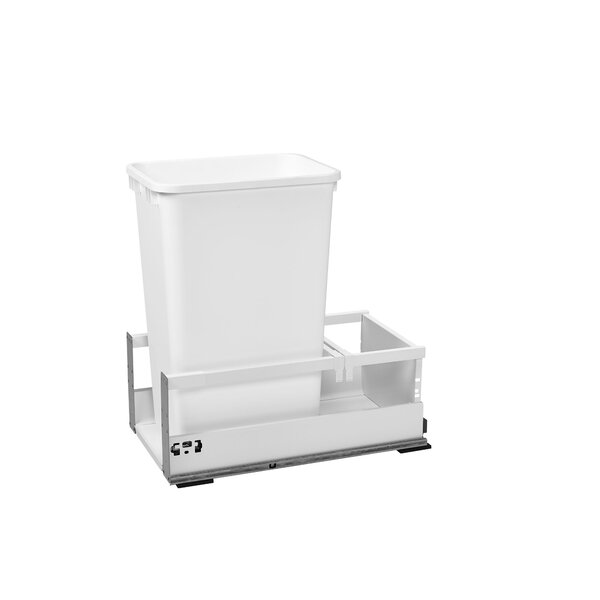 Plastic Pull Out Trash Can by Rev-A-Shelf