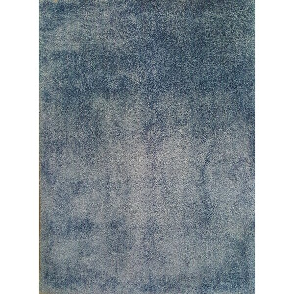 Ales Sky Blue Area Rug by Noble House