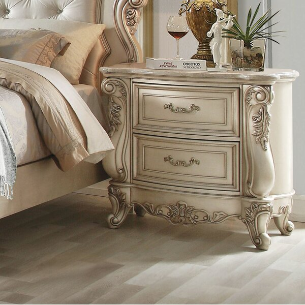 Decatur 2 Drawer Nightstand By Rosdorf Park by Rosdorf Park Great price