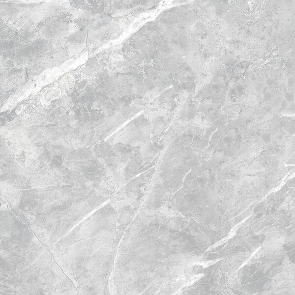 Luna Glazed 24 x 24 Porcelain Field Tile in Gray by Multile