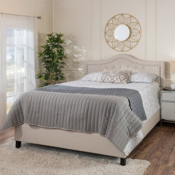 Auda Queen Upholstered Standard Bed by Willa Arlo Interiors