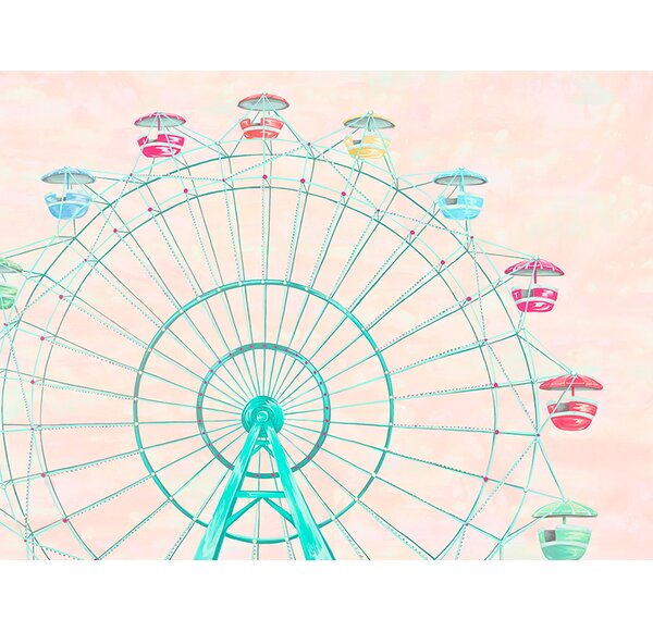 Confetti Sky by Karin Grow Paper Print by Oopsy Daisy