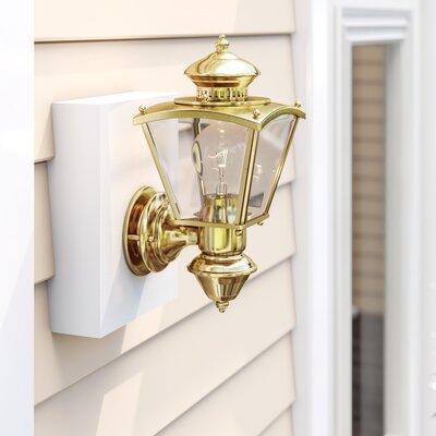 Motion Sensor Outdoor Wall Lighting You Ll Love Wayfair