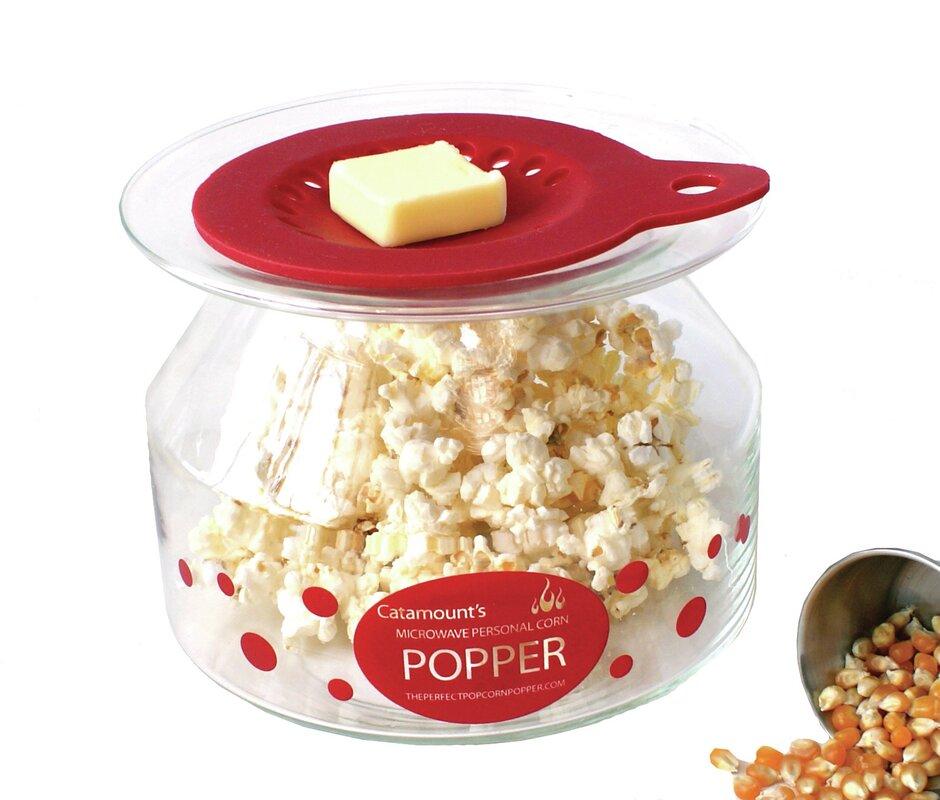 2 Oz Personal Microwave Popcorn Popper