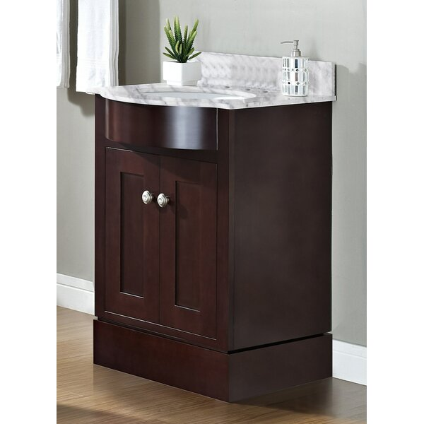 Kester Transitional 24 Rectangle Single Bathroom Vanity Set by Darby Home Co
