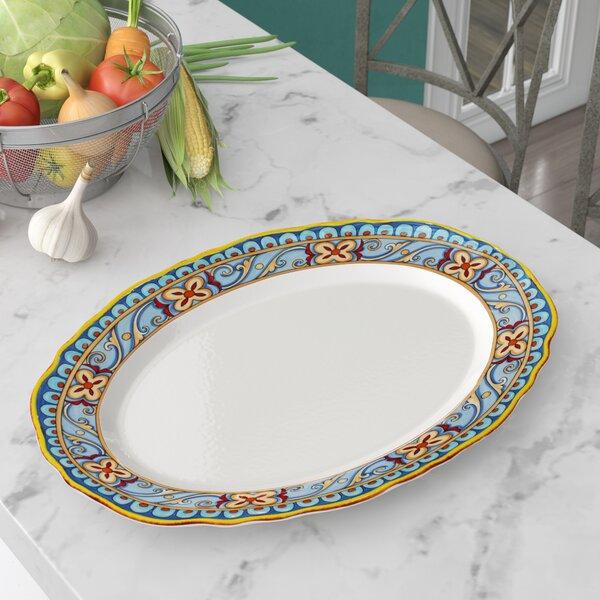 Tewksbury Oval Platter by Three Posts