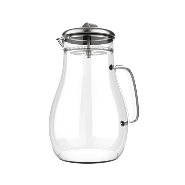 Lazo Glass 64 oz. Pitcher by Symple Stuff