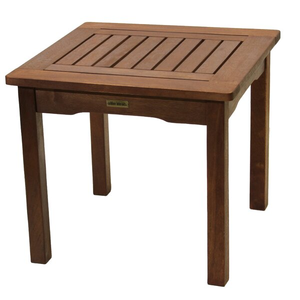 Rex Solid Wooden Side Table by Beachcrest Home