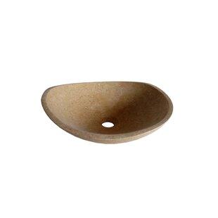 Specialty Stone Specialty Vessel Bathroom Sink ByLegion Furniture