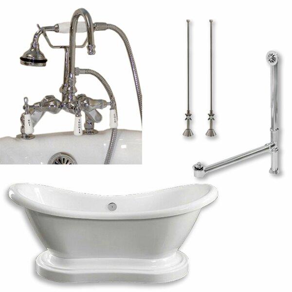 68 x 29 Freestanding Bathtub by Cambridge Plumbing