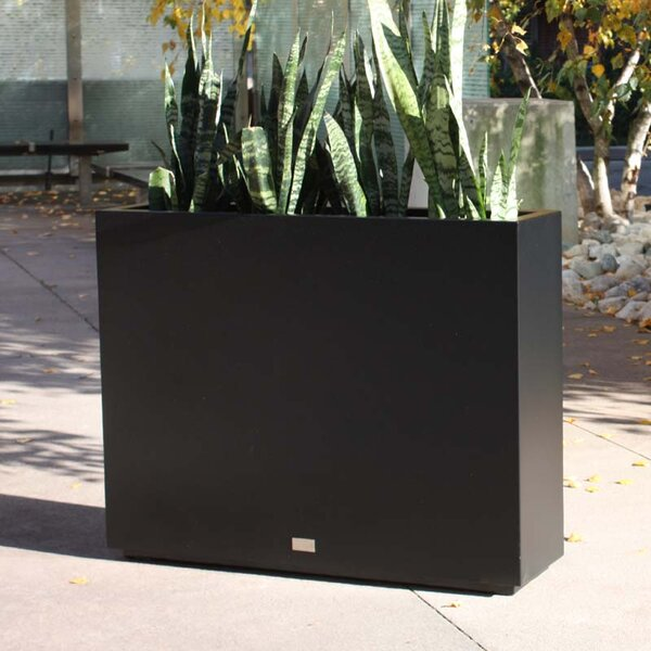 Metallic Series Span Galvanized Steel Planter Box By Veradek.