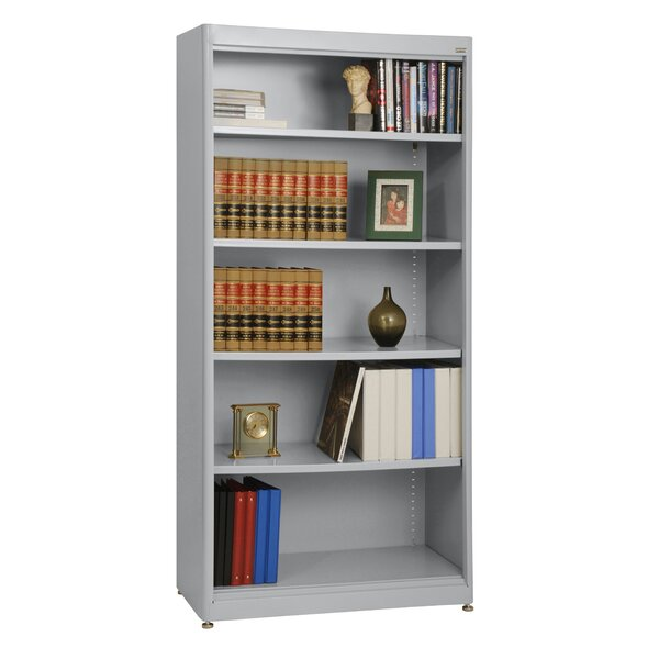 Elite Radius Edge Stationary Standard Bookcase by Sandusky Cabinets