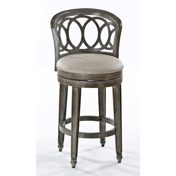 Carlsbad 30 Swivel Bar Stool by World Menagerie