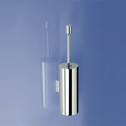 Round Wall-Mounted Toilet Brush and Holder by Windisch by Nameeks