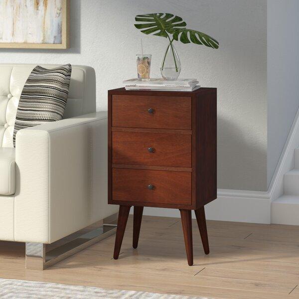 Pelham End 3 Drawer Table By Langley Street™