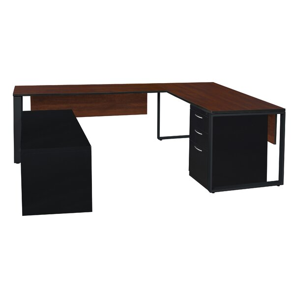 Mireya U-Shape Executive Desk by Ebern Designs