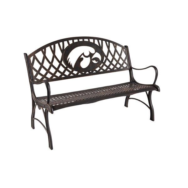 Michell Iron Park Bench by Canora Grey