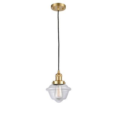 Breakwater Bayhamrick 1 Light Single Schoolhouse Pendant Breakwater Bay Finish Oil Rubbed Bronze Shade Color Clear Bulb Type 60 Watt Vintage Incandescent Bul Dailymail