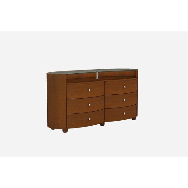 Bernstein 6 Drawer Double Dresser by Latitude Run