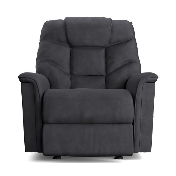 Deren Manual Wall Hugger Recliner by Red Barrel St