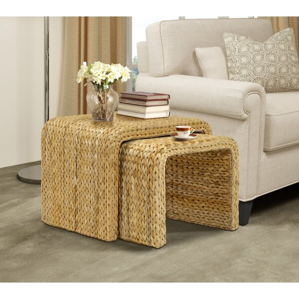 Nobles 2 Piece Sled Nesting Tables By Beachcrest Home