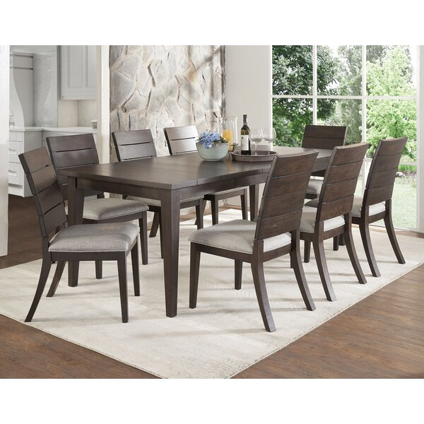 Wooton 9 Piece Extendable Dining Table Set by Gracie Oaks
