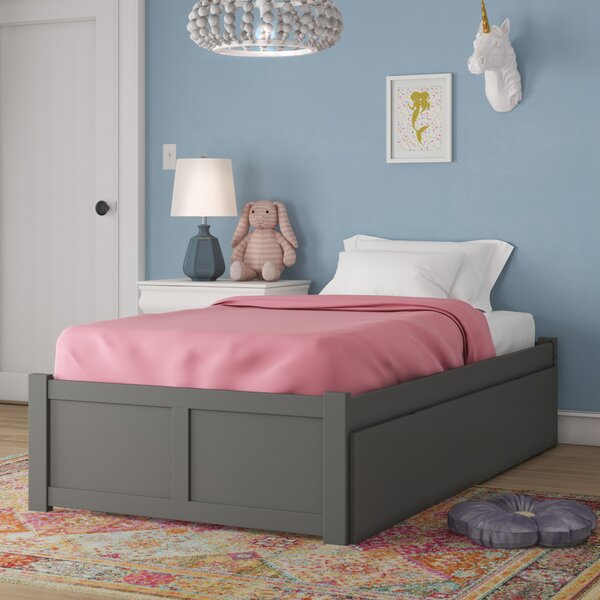Bolick Twin Platform Bed With Trundle by Isabelle & Max