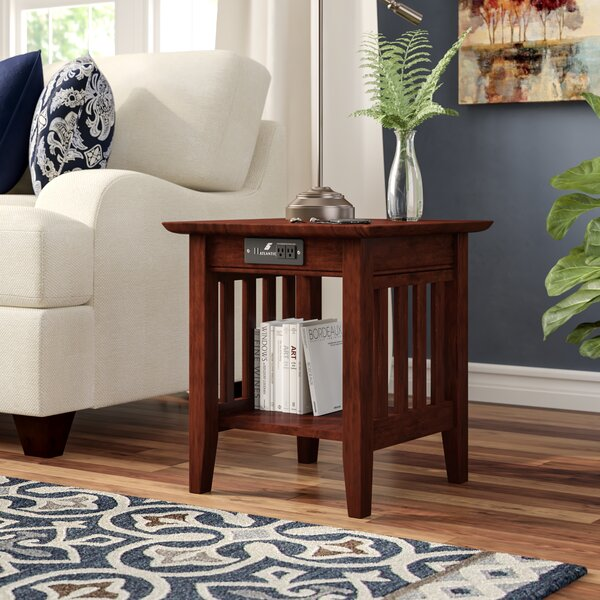 Danube End Table by Three Posts