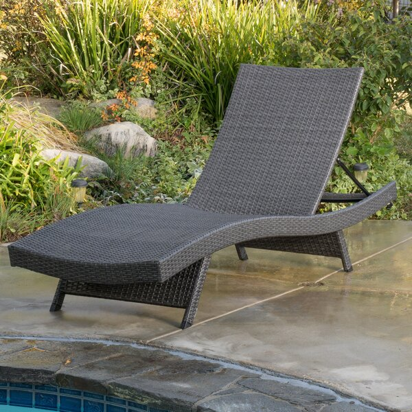 Rebello Reclining Chaise Lounge By Sol 72 Outdoor