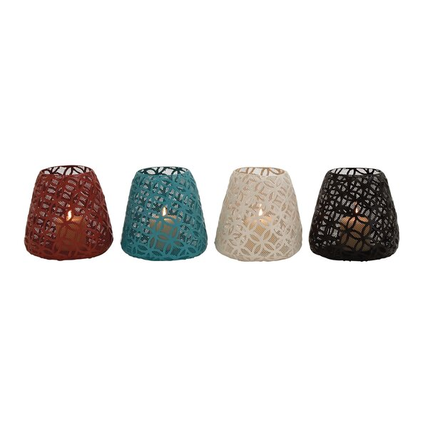 Metal Votive (Set of 4) by Cole & Grey