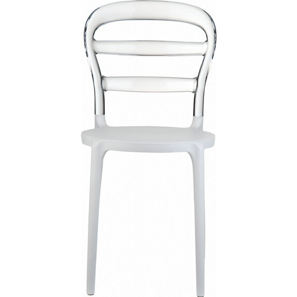 Nickell Stacking Patio Dining Chair (Set of 4) by Ebern Designs
