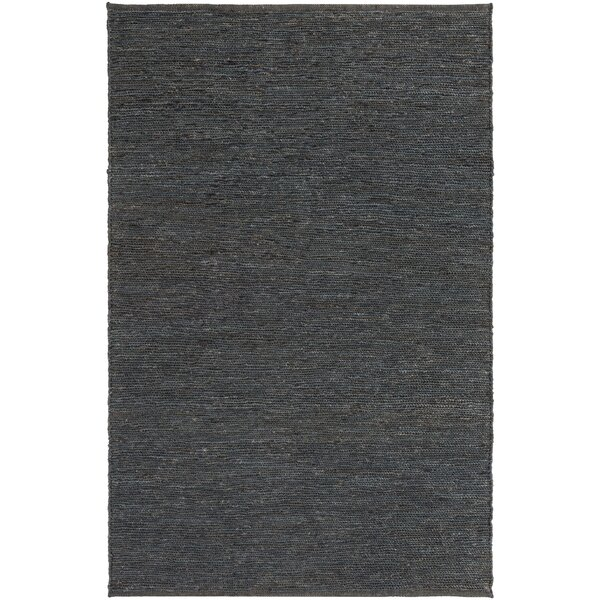 Zellers Hand-Woven Navy Area Rug by George Oliver