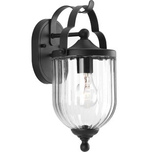 Read Reviews Peoria Wall Lantern By Charlton Home