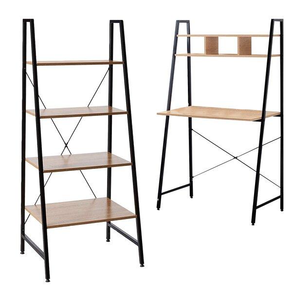 Fidel Steel Ladder Bookcase By Gracie Oaks