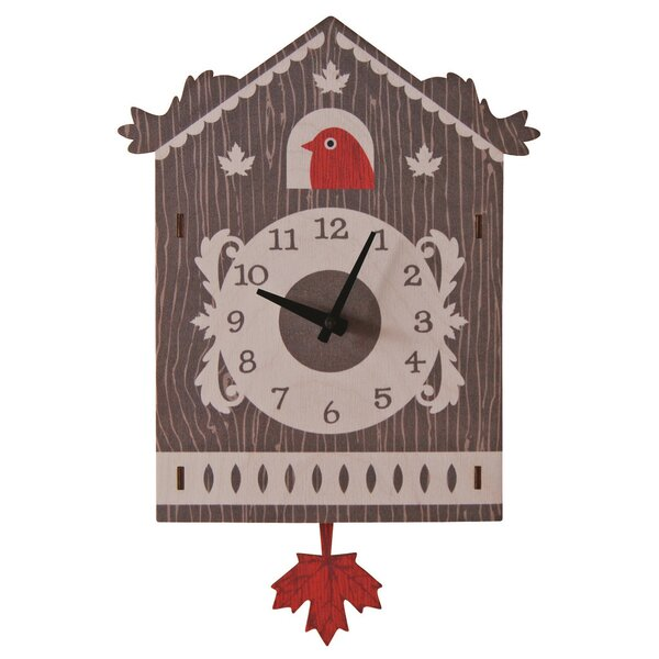 Cuckoo Pendulum Wall Clock by Modern Moose