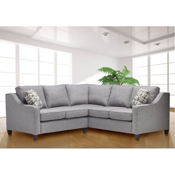 Fayetteville Symmetrical Reversible Sectional by Ivy Bronx