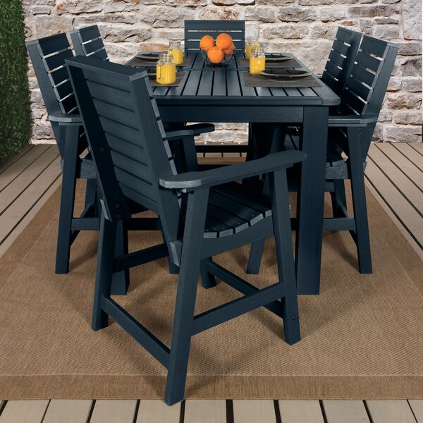 Shondra 7 Piece Dining Set by Darby Home Co